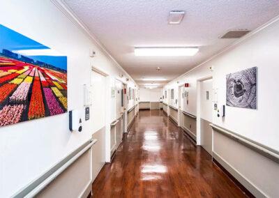 Alcott Rehabilitation hallway