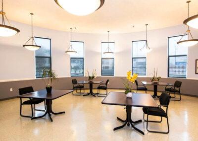 Alcott Rehabilitation main dining area