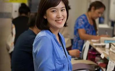 Korean Nurse smiling