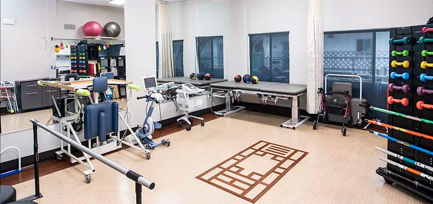 Alcott Rehabilitation gym
