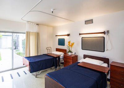 Alcott Rehabilitation semi-private room