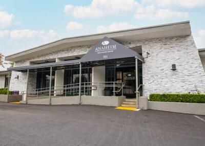 Anaheim Healthcare facility front entrance