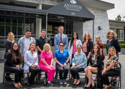 Staff of Anaheim Healthcare