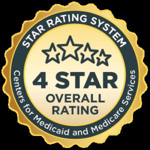 Medicare 4-star rating