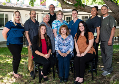 Brentwood Post-Acute leadership staff