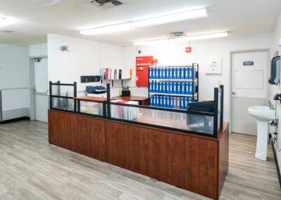 Brentwood Post Acute nurses station