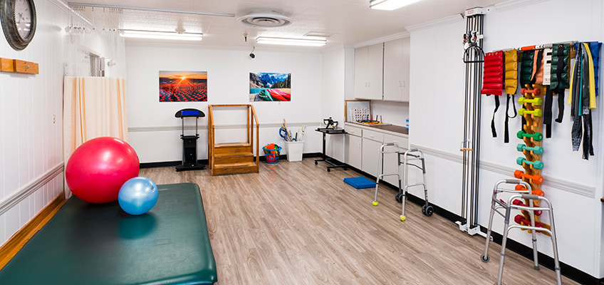 Brentwood Post Acute rehab gym