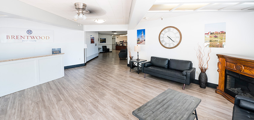 Brentwood Post Acute front lobby