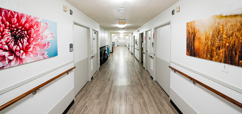 Brentwood Post Acute hallway