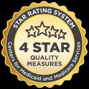 Medicare 4-star quality rating