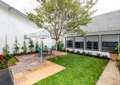Citrus Nursing Center green grass, and trees