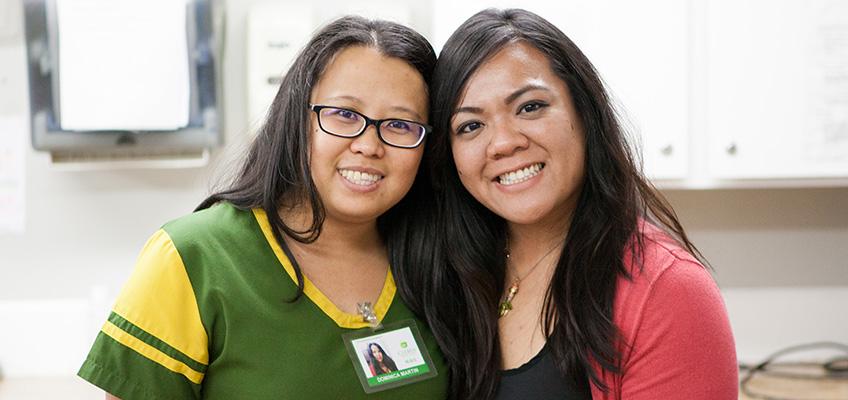 Citrus Nursing Center cute nurses smiling
