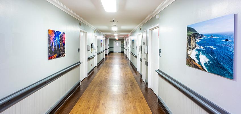 Citrus Nursing Center hallway