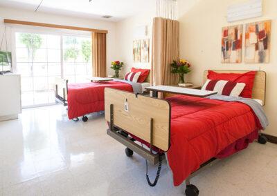 College Vista semi-private room