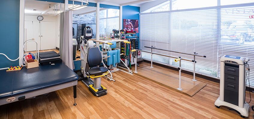 College Vista rehab gym