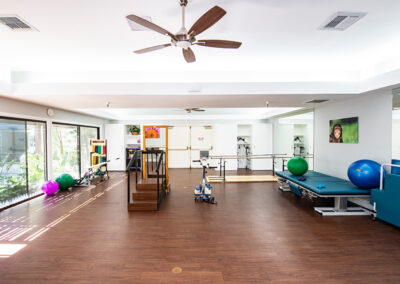 Community Care rehab therapy gym