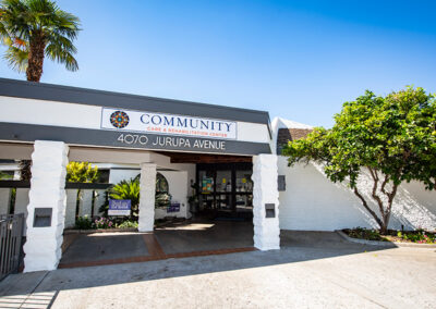 Community Care front sign