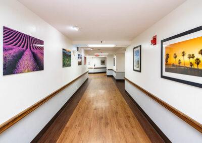 Community Care hallway