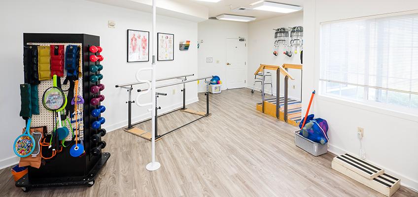 Country Crest rehab gym