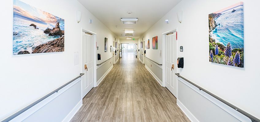 Country Crest hallway