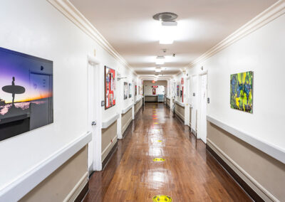 Country Oaks hallway