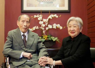 Del Mar elderly resident with spouse