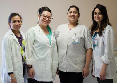 Del Mar nurses smiling