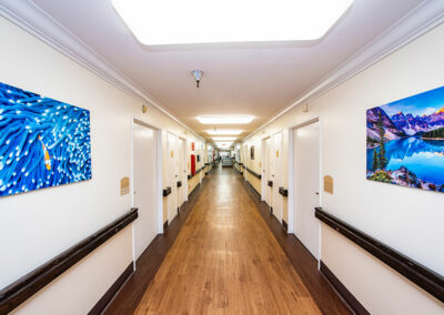 Extended Care hallway