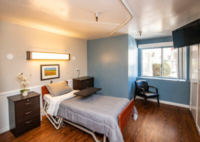Extended Care semi-private bedroom