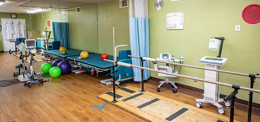 Extended Care rehab gym