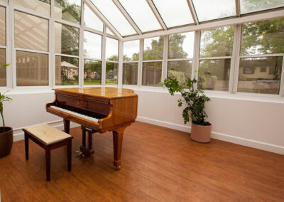 French Park piano room