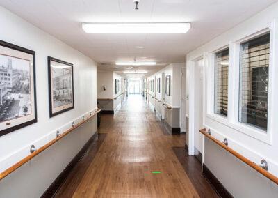 French Park hallway