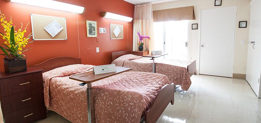 Garden Park semi-private room