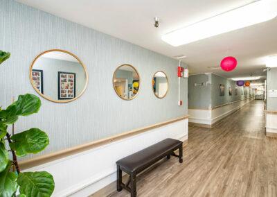 Garden Park Care hallway