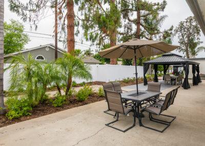 Gordon Lane outdoor comfortable seating area