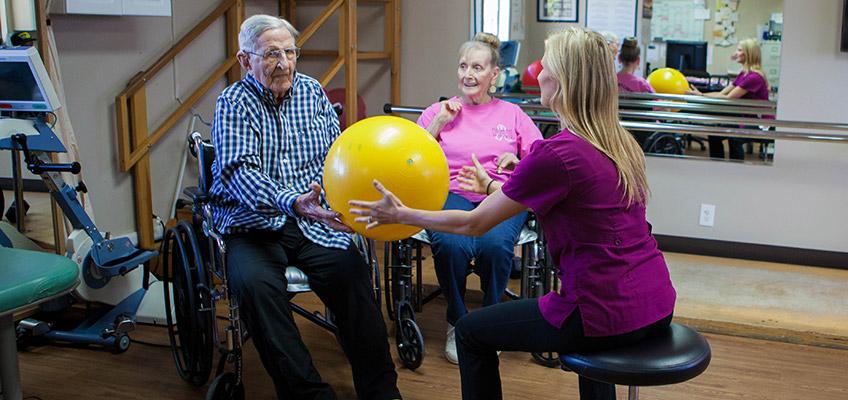 Gordon Lane rehab therapist