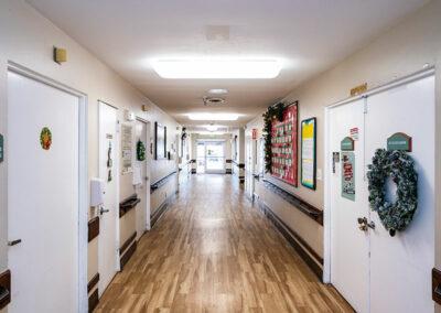 hallway at Mission Care Center