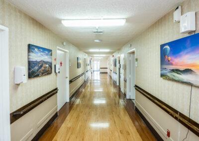 Monterey Park hallway
