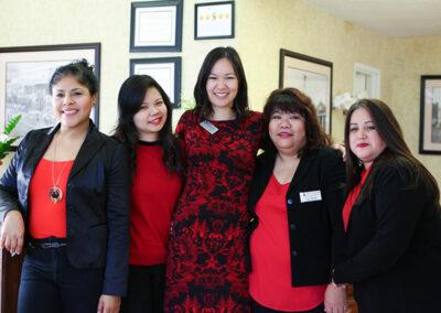 Monterey Park several staff at front desk