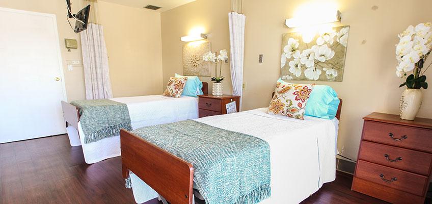 Monterey Park semi-private room