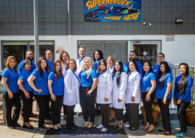 North Valley Nursing Center staff and care team
