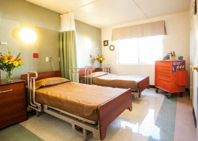 North Valley Nursing Center semi-private room