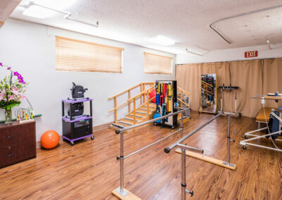 North Valley Nursing Center rehab gym