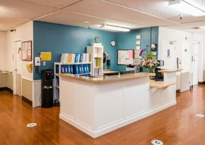 North Valley Nursing Center nurses station