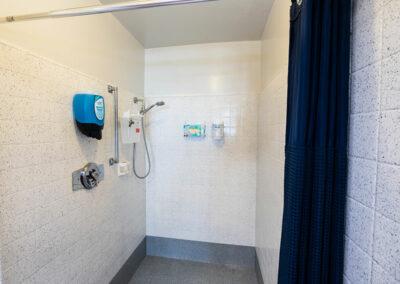 North Valley Nursing Center shower