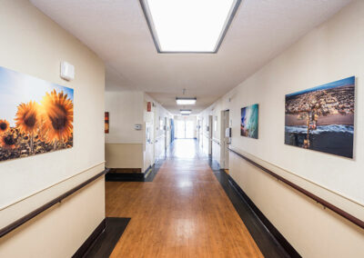 Hallway at Pacific Post-Acute