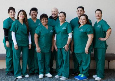 Staff of Paramount Convalescent Hospital