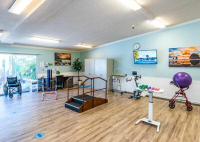 Paramount Convalescent rehab gym