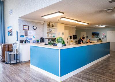 Paramount Convalescent nurses station