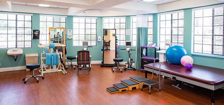 Park Regency Care Center rehab gym